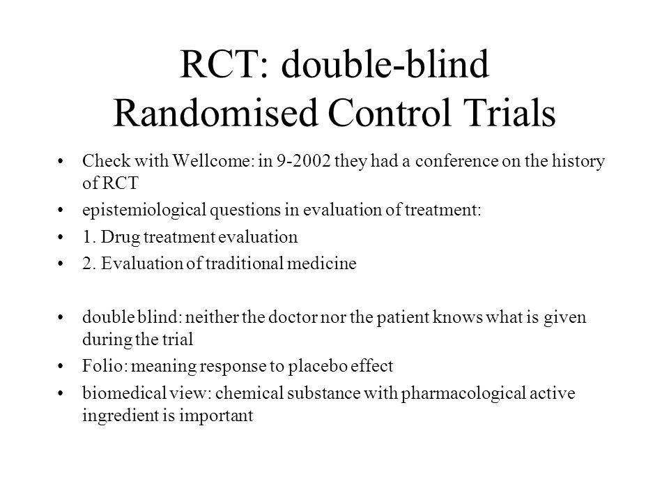 randomized controlled trials essay Randomized controlled trial: a historical perspective randomized controlled trials: randomized controlled trial: a historical perspective.