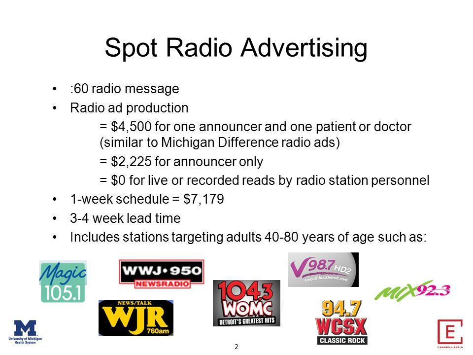 sample radio ad