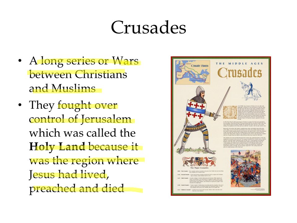 East Meets West The Crusades