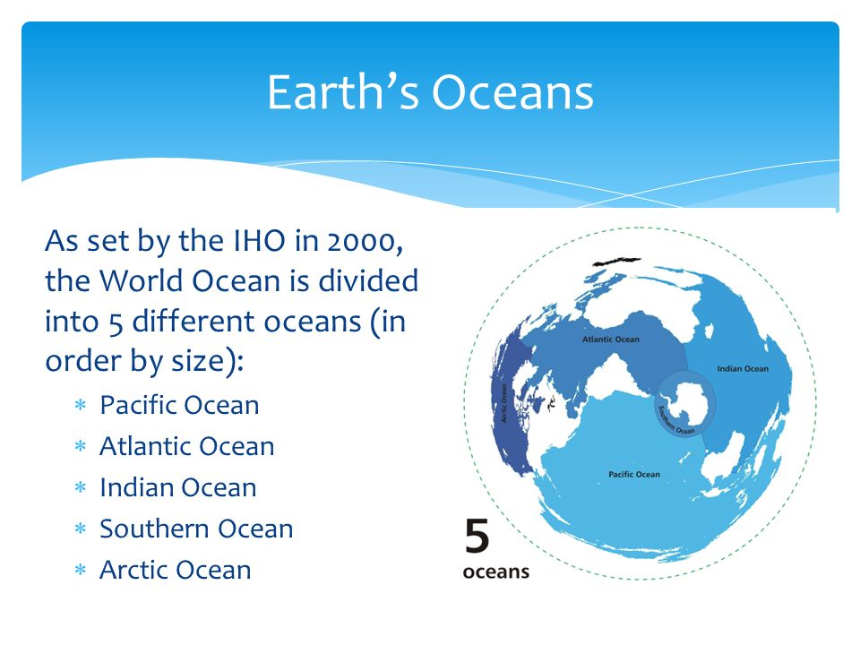 Learn Oceans Of The Earth Quick Guide YouTube How The Oceans - 5 different oceans