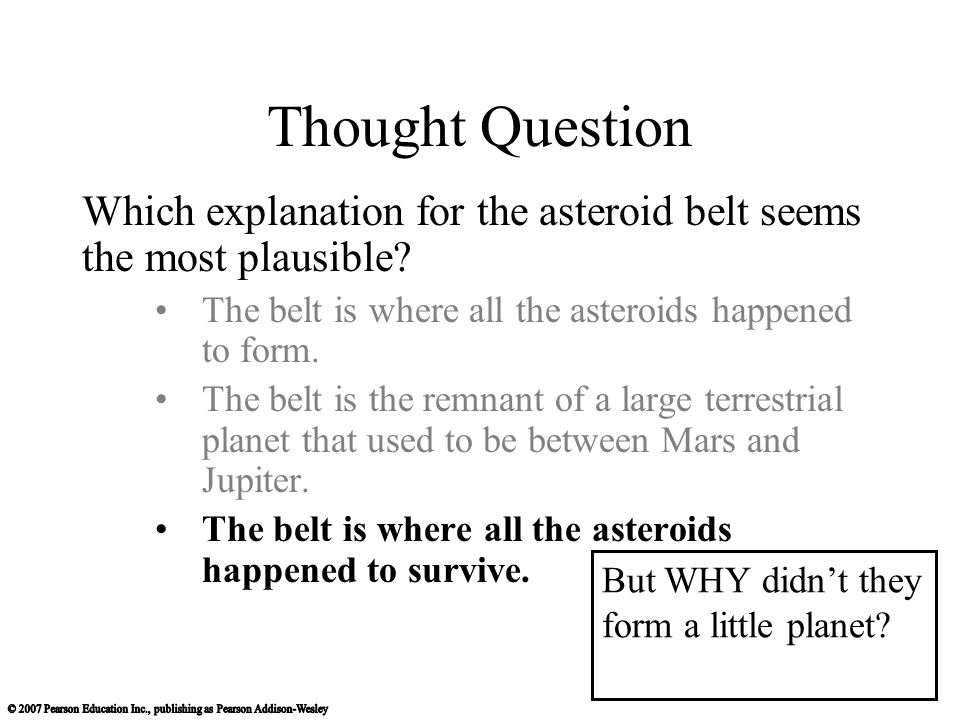 Chapter 9 Asteroids, Comets, and Dwarf Planets Their Nature ...