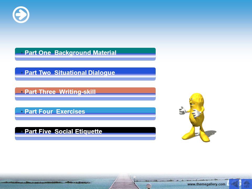 LOGO www.themegallery.com 学会用英语与客人有效沟通,并能引领客人 购物 熟练掌握与本话题相关的专业英语词汇及常用句型表达 练习用英语引领客人购物 学会用英文描述某项旅游纪念品 学会英语中的赠送礼品礼仪 Study Objectives