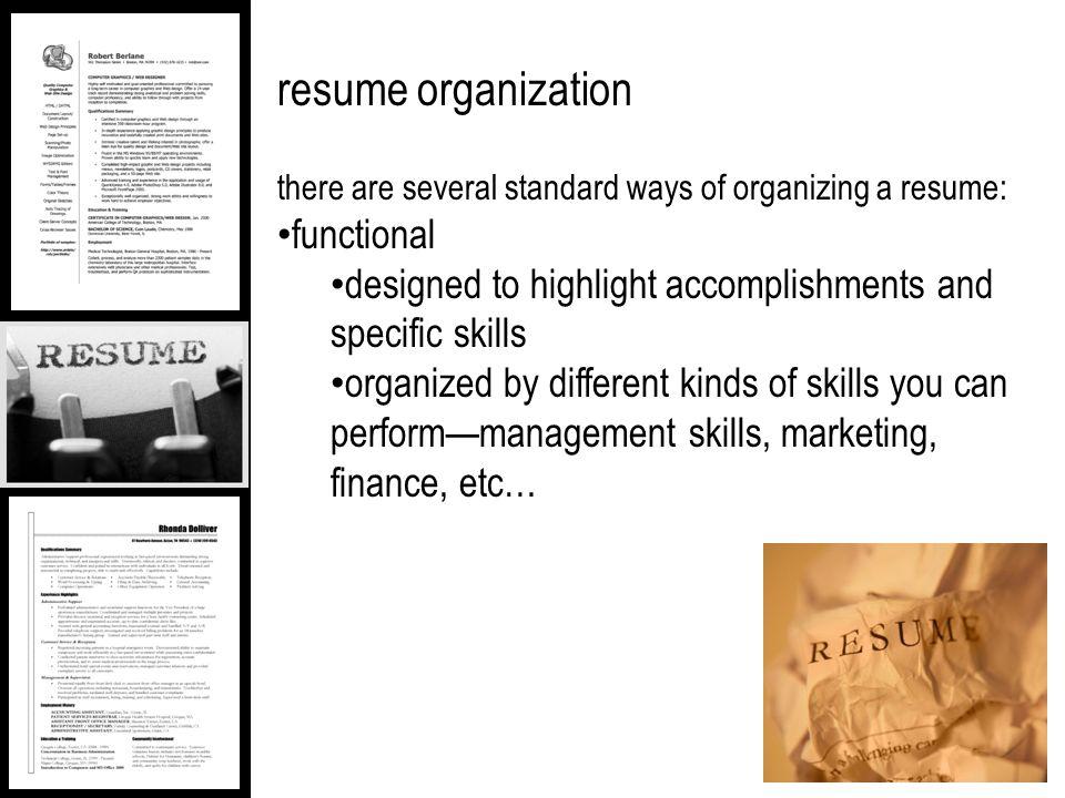 fash 84 portfolio presentation the resume resume content in
