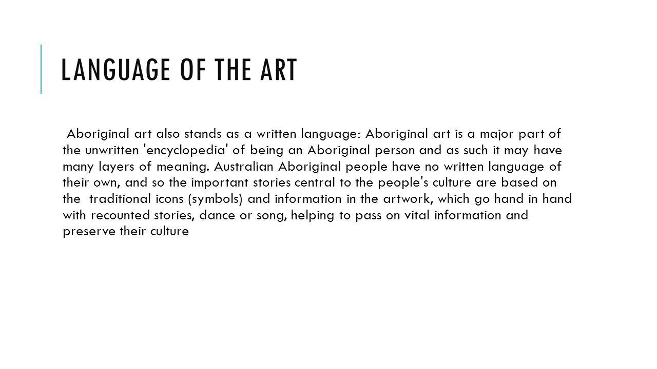 Aboriginal art by michael frye rock painting australian indigenous 4 language biocorpaavc Image collections
