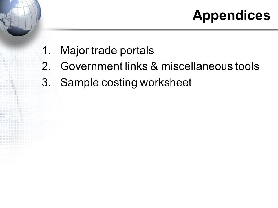 Successful Sourcing and Importing Overseas Tim Redhed. - ppt download
