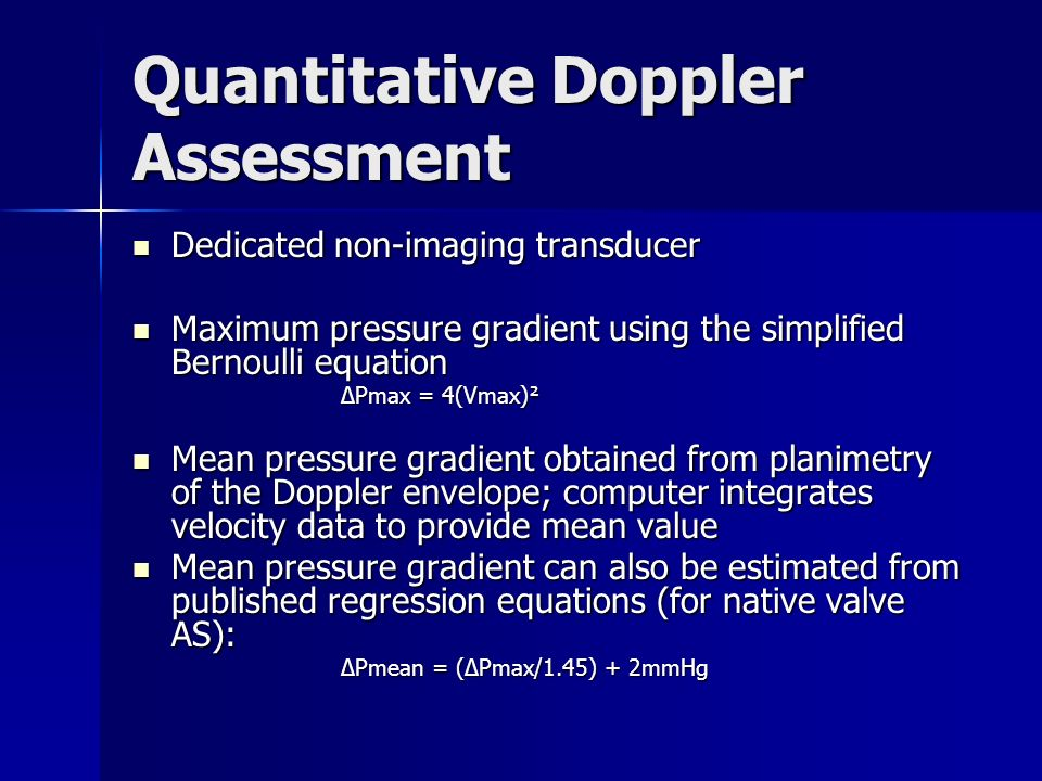 simplified bernoulli equation. 17 quantitative simplified bernoulli equation i