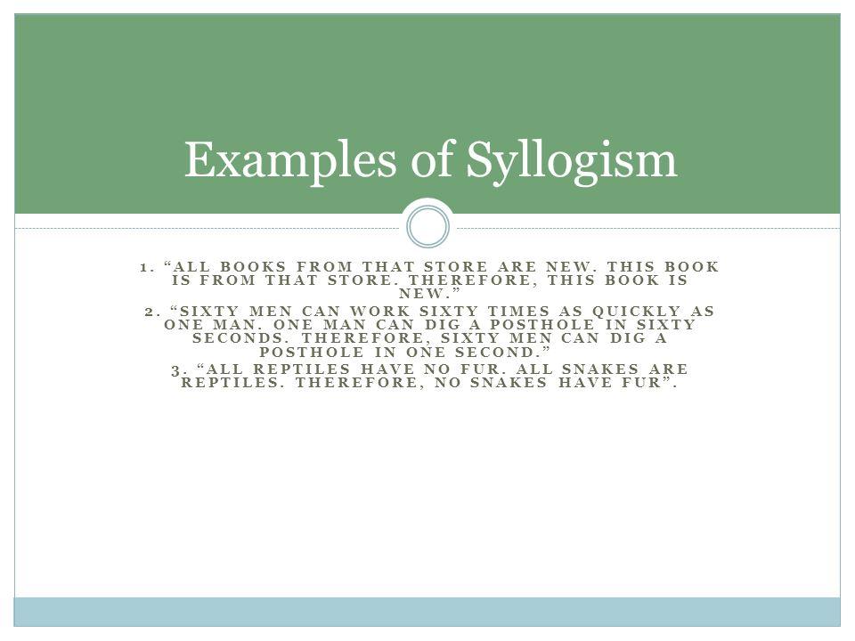 Syllogism Symbolism Synecdoche Synesthesia And Syntax Erica