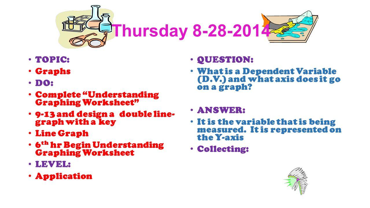 worksheet Understanding Graphing Worksheet warm ups 1 st quarter astronomy wednesday topic classroom thursday 8 28 2014 graphs do complete understanding graphing worksheet 9