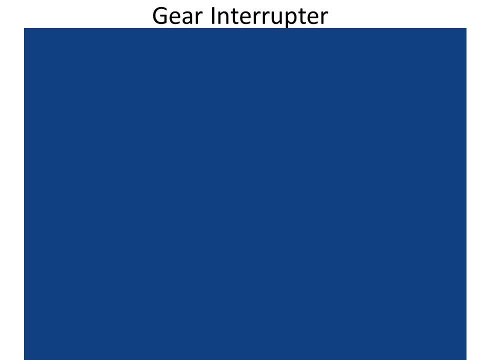 Gear Interrupter