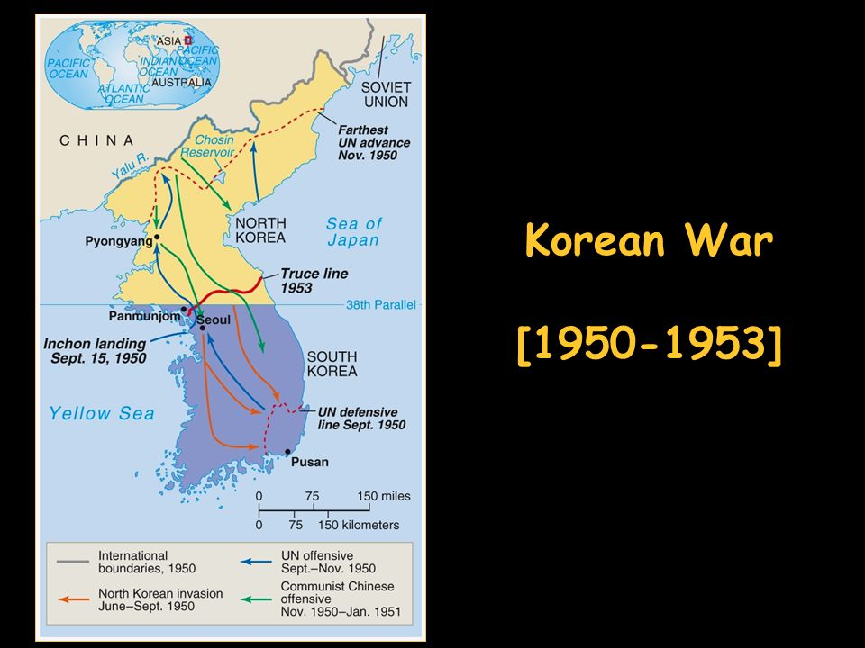 Korean War [ ]