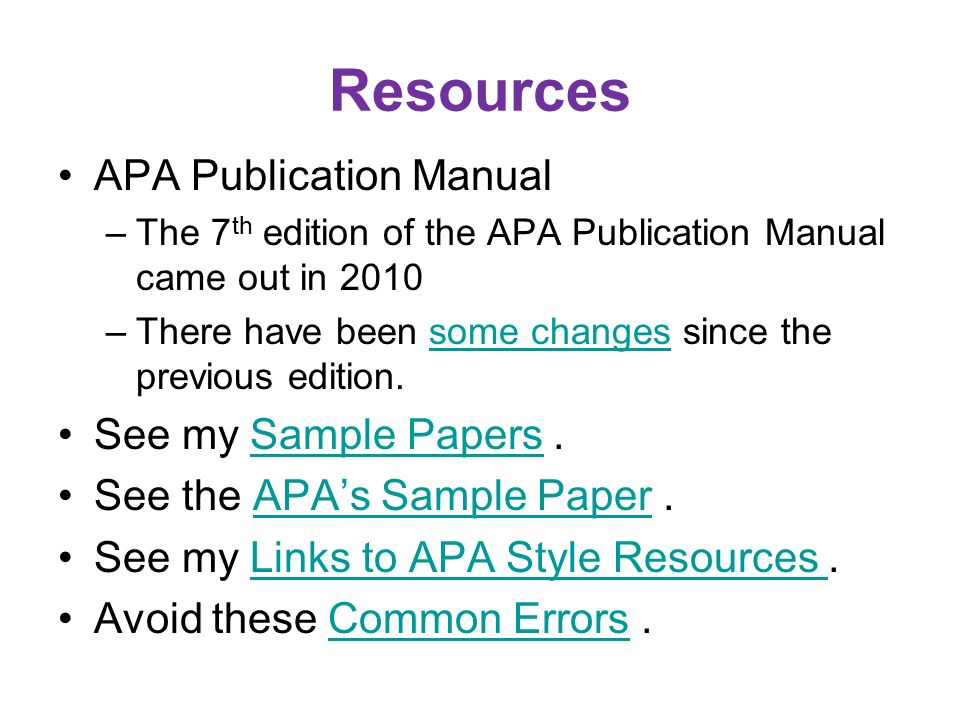 apa style 7th edition apa style for research reports college paper