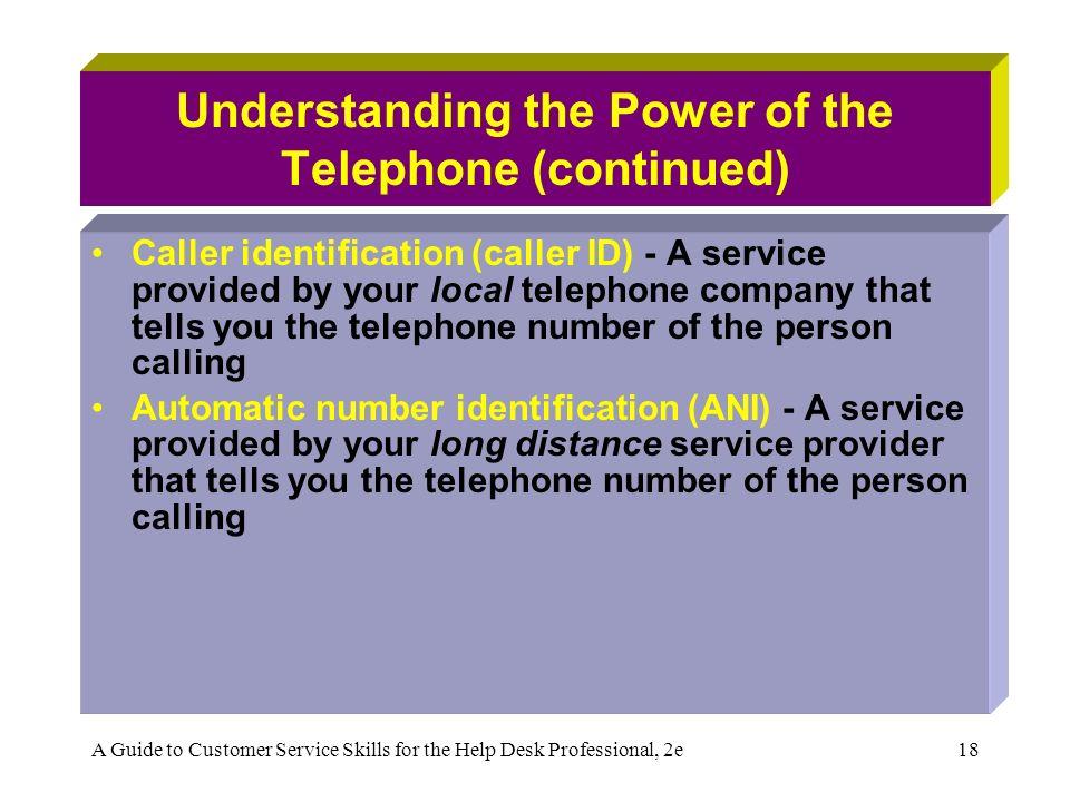telephone customer service skills