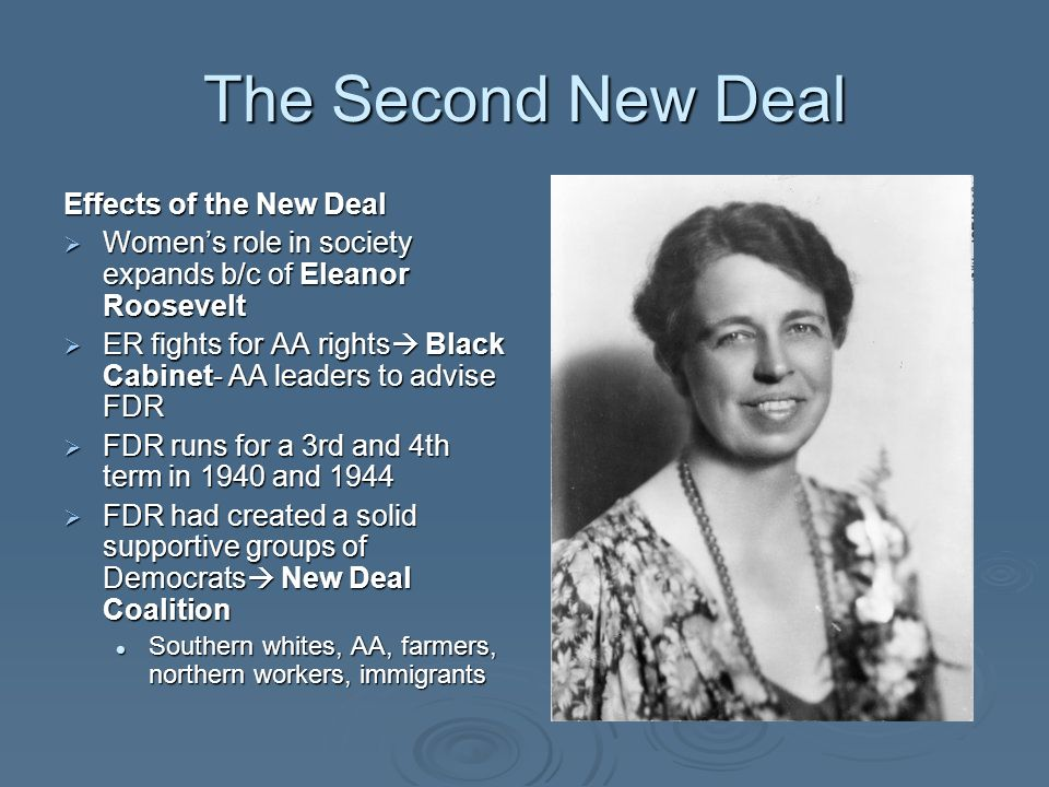 24 The Second New Deal ...