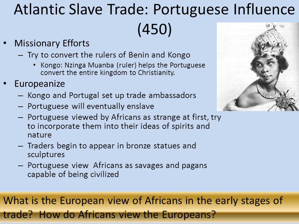 the slave trade essay