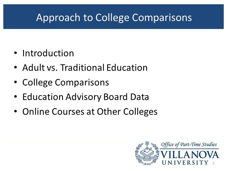 college comparisons