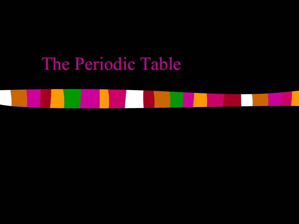 The periodic table basics each element on the periodic table has a 1 the periodic table urtaz Choice Image