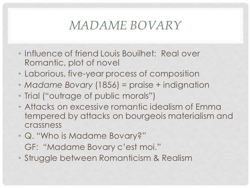 gustave flaubert as romanticist