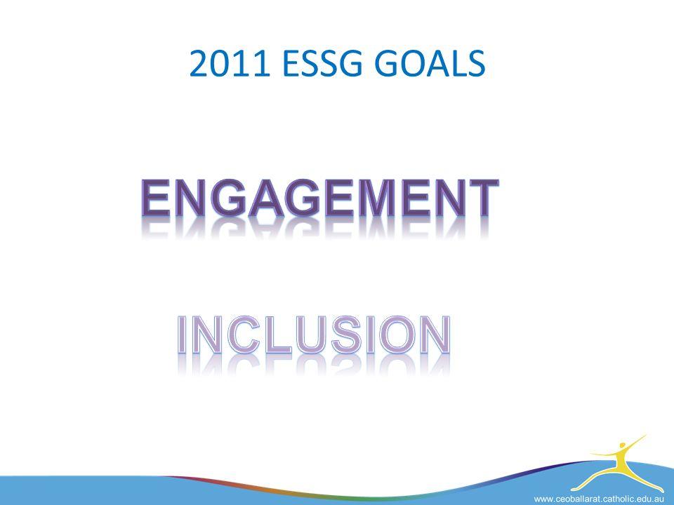 2011 ESSG GOALS