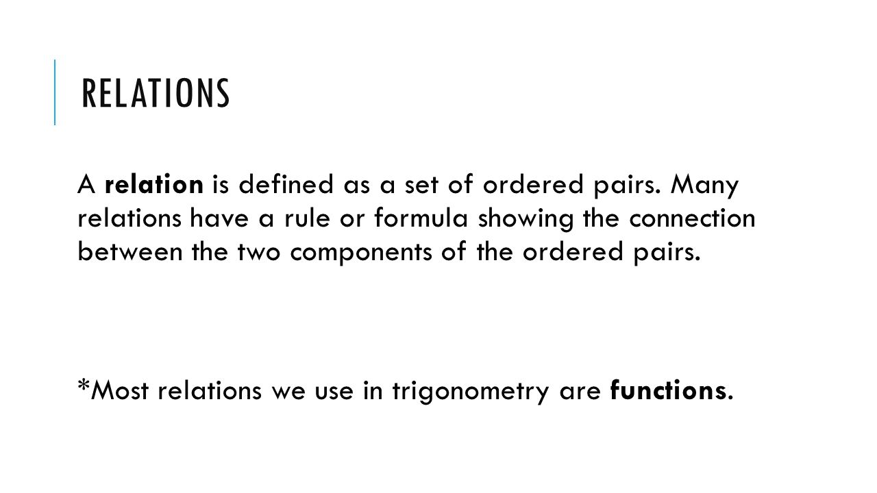 *find Domain And Range Of Functions 4 Relations