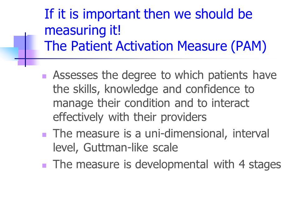 patient activation measure