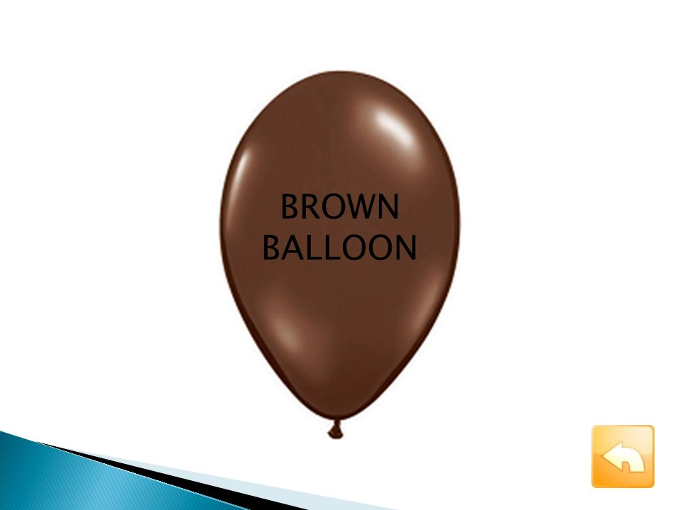 BROWN BALLOON