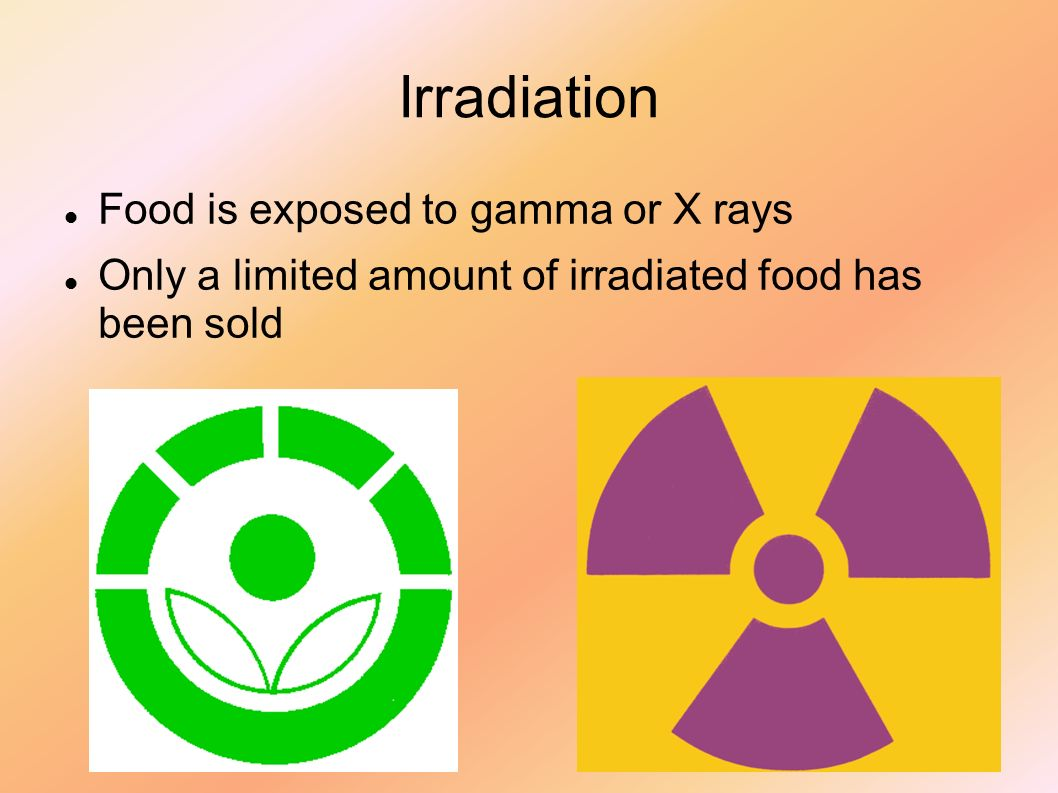 Food preservatives and dyes carl schroedl preservatives 9 irradiation food is exposed to gamma or x rays only a limited amount of irradiated food has been sold biocorpaavc