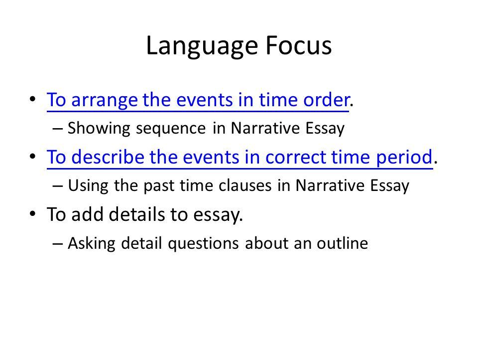 unit narrative essay review a narrative essay is a piece of  4 language