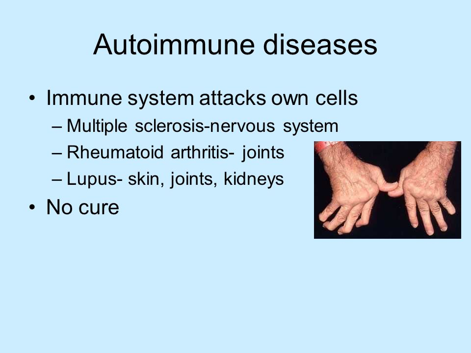 autoimmune disorders Autoimmune diseases have increased dramatically worldwide since world war ii this is coincidental with the increased production and use of chemicals both in industrial countries and agriculture, as well as the ease of travel from region to region and continent to continent, making the transfer of a.