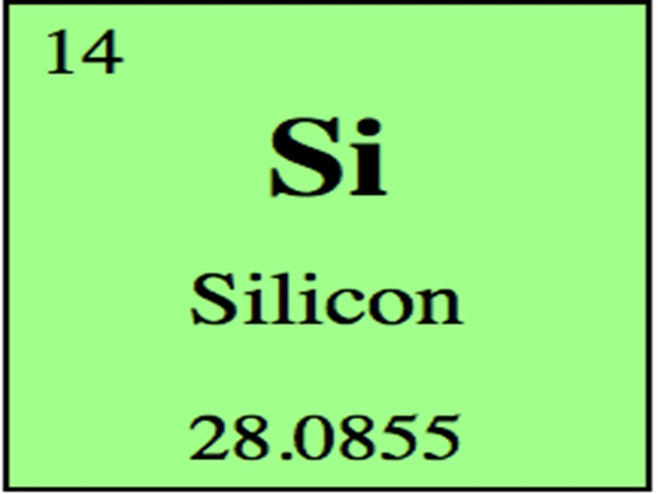 Silicon Atomic Number Is 14 Symbol Is Si Atomic Mass Is Ppt Video