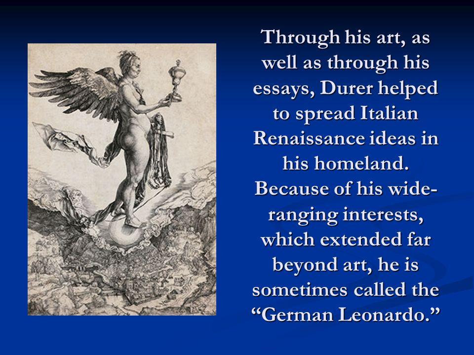 essay on the renaissance art