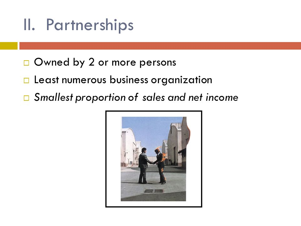 CHAPTER 3: BUSINESS ORGANIZATIONS Section One: Forms of Business ...