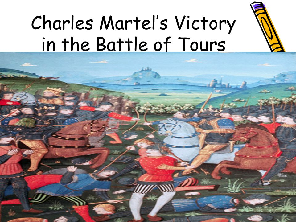 Charles Martel's Victory in the Battle of Tours