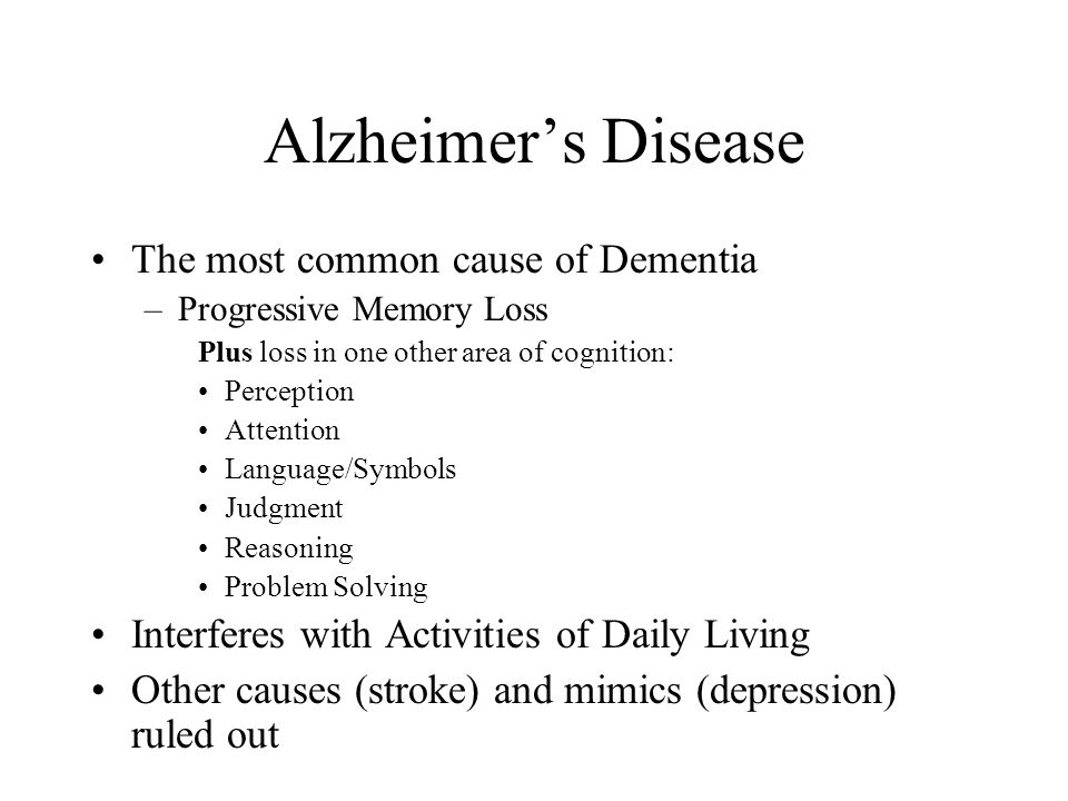 the cause of alzheimers disease essay Dementia and alzheimers disease health essay dementia is a symptom that can be caused by many disorders and alzheimer's disease is the type and cause of.