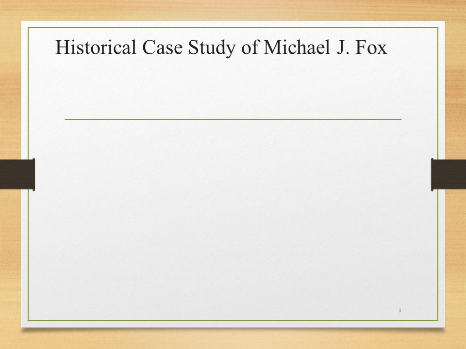 a study of michael parkinson