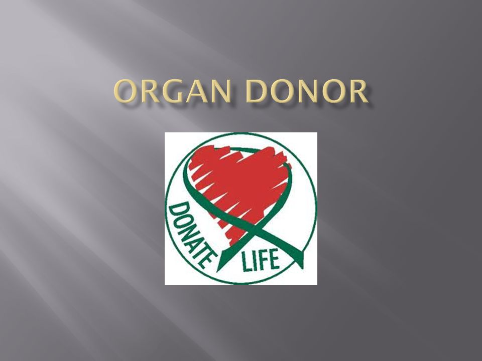 the anatomical gift act and an interest to be an organ donor New york organ donor network, inc, et al plaintiff's possessory right or interest in the new york's version of the uniform anatomical gift act and its.
