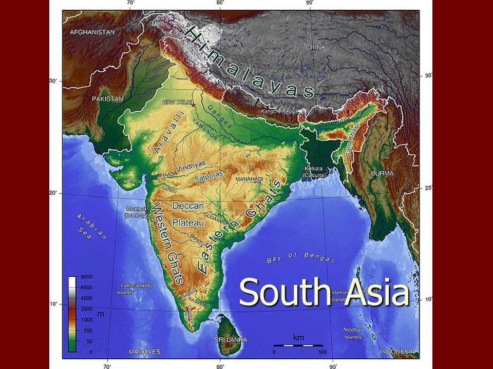 Physical geography south asia 1 what countries are considered 1 physical geography south asia gumiabroncs Images