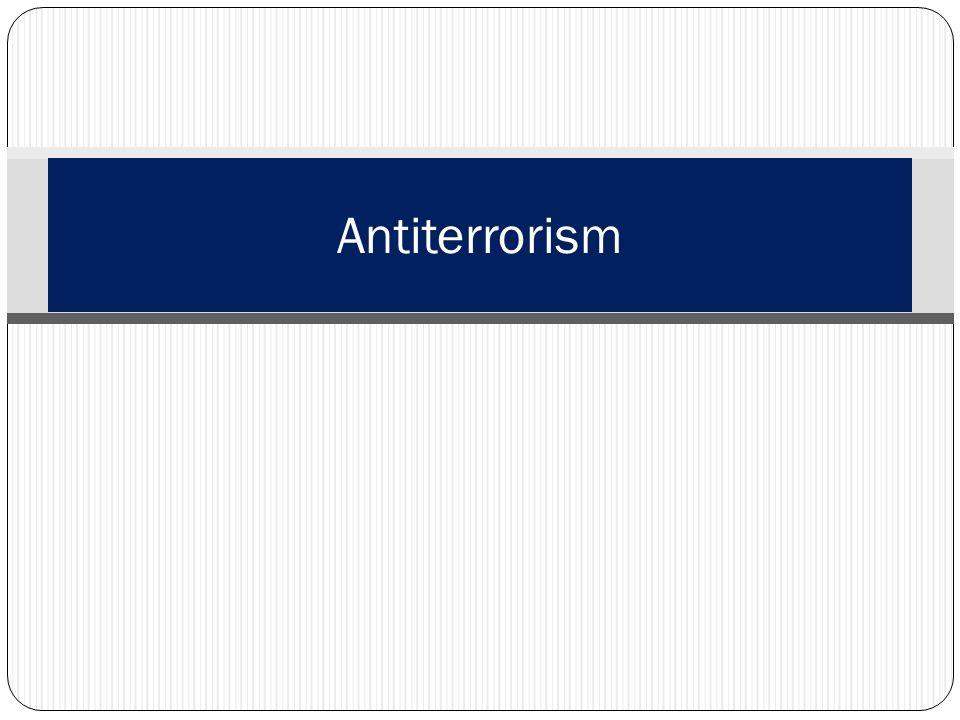 Antiterrorism