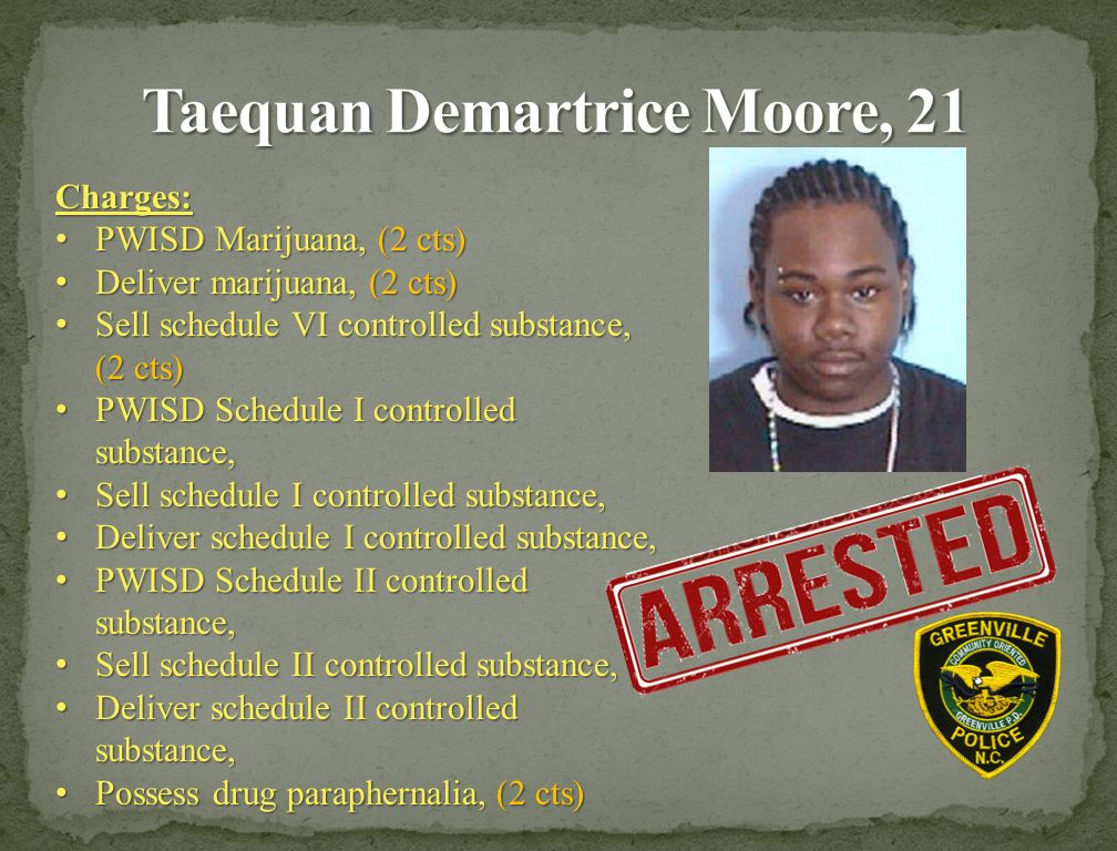 Conducted By The Gpd Gang Unit And Greenville Regional