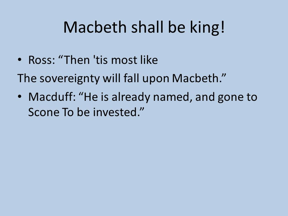 analysis of the conversation between malcolm and macduff in act iv scene iii of the play macbeth by  Macbeth act 4, scene 3 summary an army against macbeth but malcolm says macduff might wwwlitchartscom/lit/macbeth/act-4-scene-3.