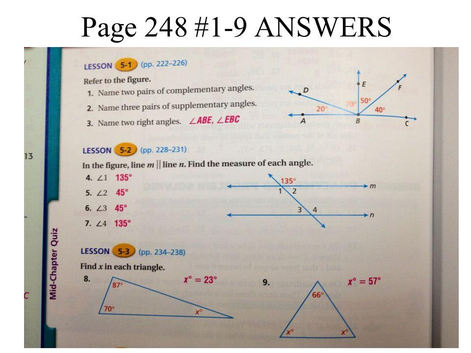 Alegbra homework