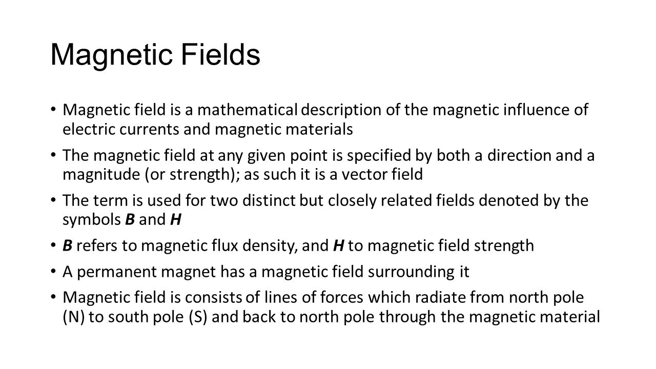 Lecture 11 magnetism and inductance magnetism magnetism is a 3 magnetic fields magnetic field buycottarizona