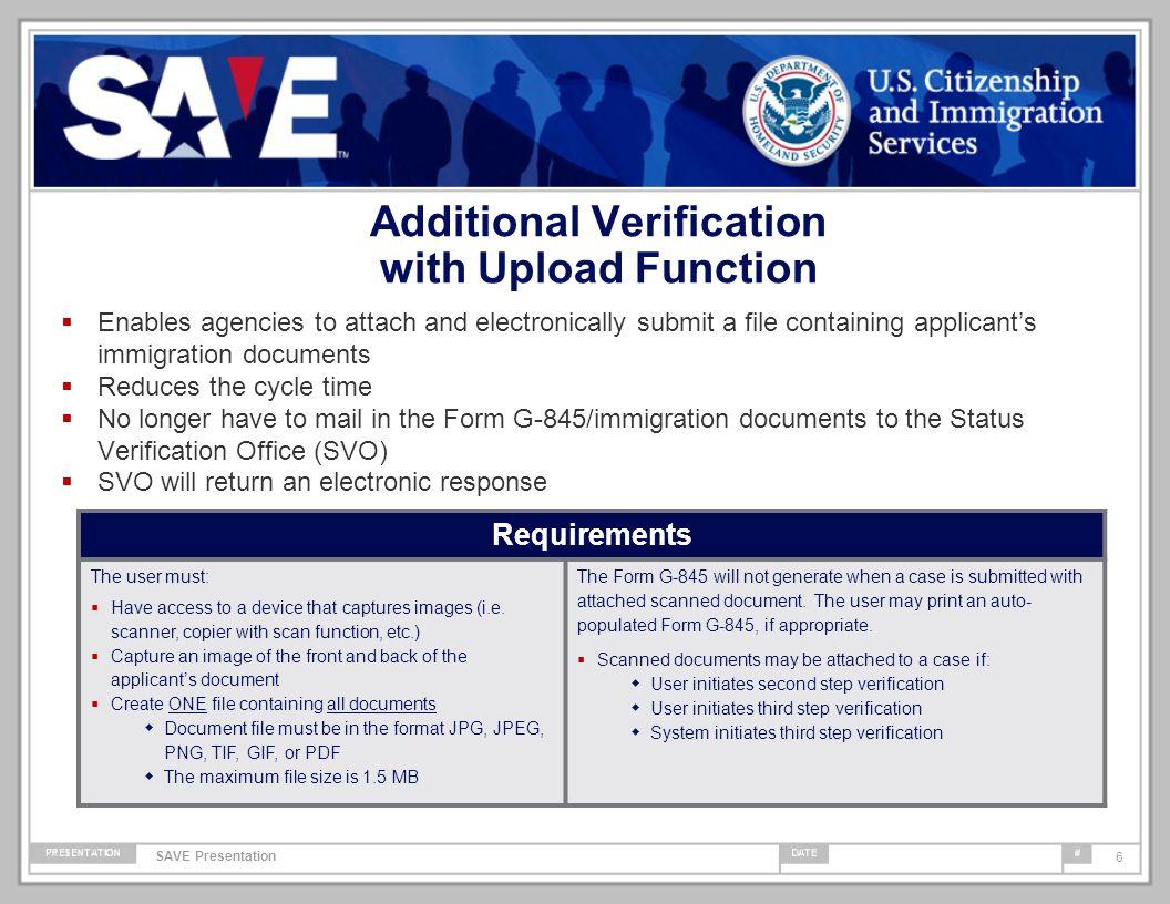 Systematic Alien Verification for Entitlements (SAVE) Program 2013 ...