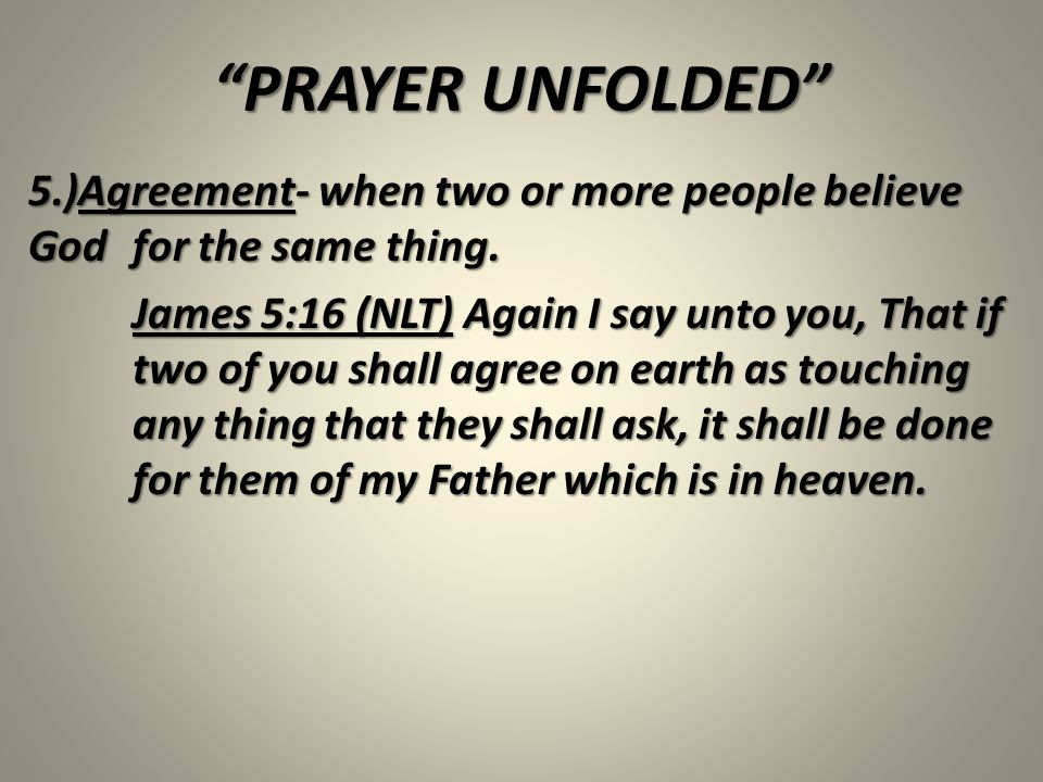 Prayer unfolded our phones can do so much more if we took the agreement when two or more people believe god for the platinumwayz