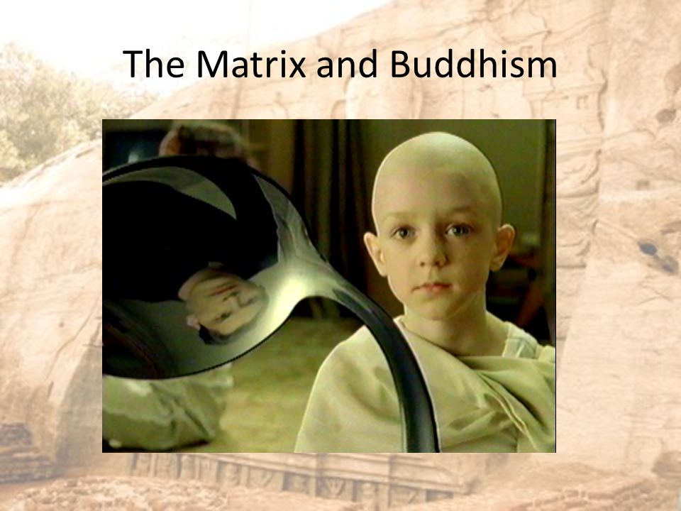 The Matrix and Buddhism