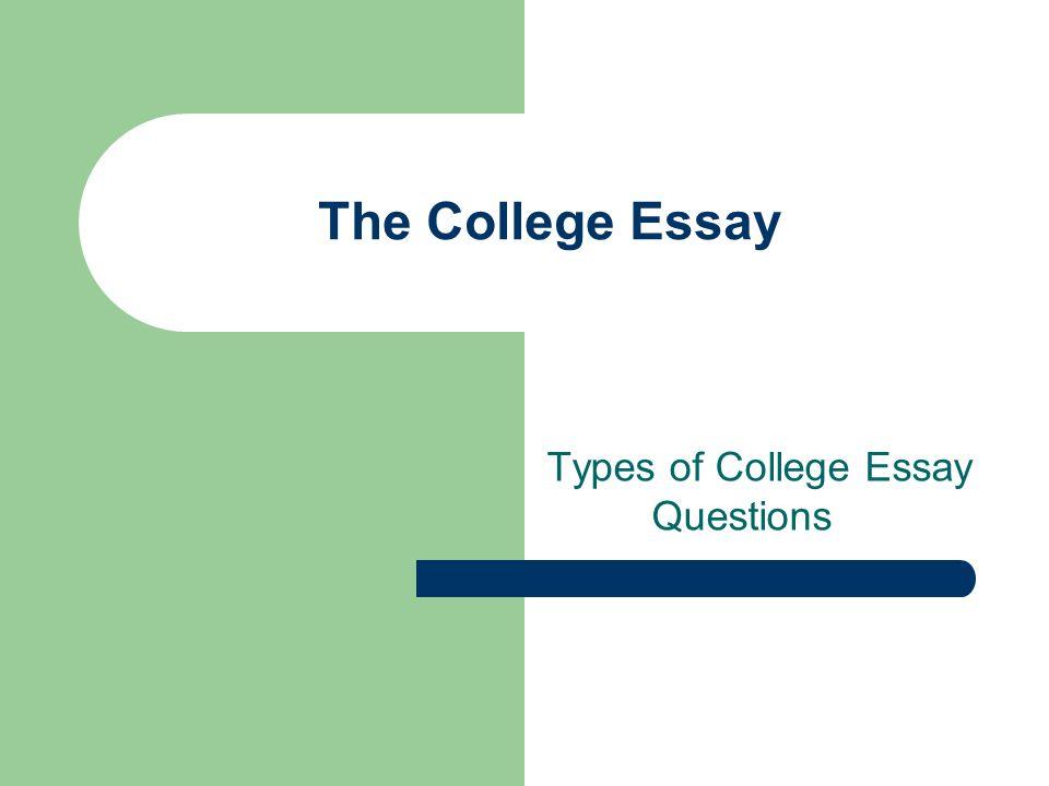 college essay topics