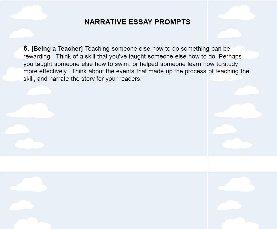 Being a teacher essay