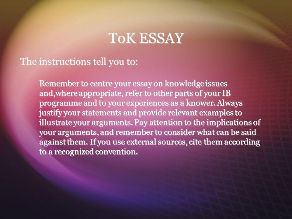 instructions essay