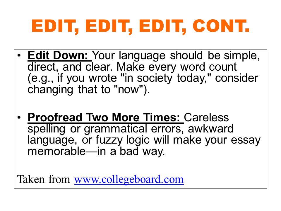 unique college essay topics