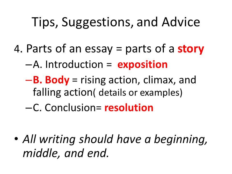 english advanced essay writing