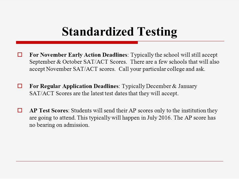 standarized testing